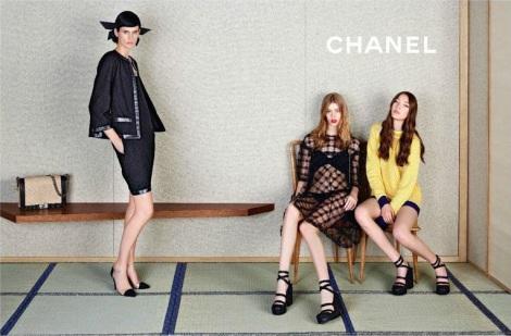 Yumi Lambert - Chanel Spring Summer 2013 - 4